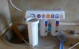 Как поменять фильтр аквафор