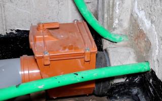 Ввод водопровода в частный дом