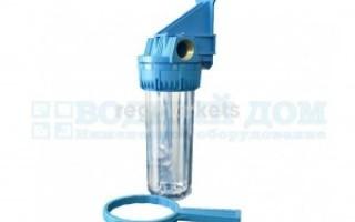 Фильтр механической очистки воды магистральный