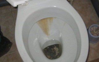 Чистка унитаза от мочевого камня