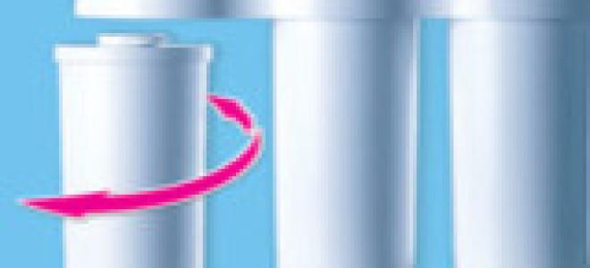 Замена картриджей в фильтре аквафор