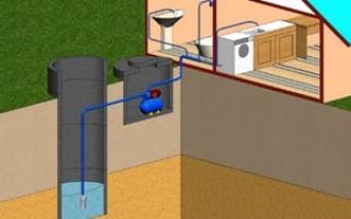 Монтаж водопровода на даче