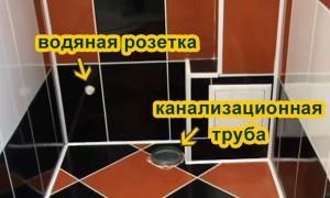 Как правильно установить унитаз на плитку
