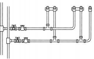 Схема водопровода в квартире