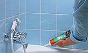 Чем обезжирить акриловую ванну перед силиконом