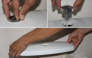 Как снять крышку с бачка унитаза