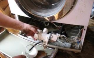 Машинка стиральная не сливает воду и гудит
