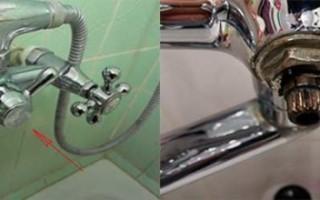 Переключатель душ кран для смесителя