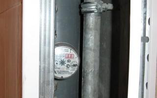 Порядок установки счетчика на воду в квартире